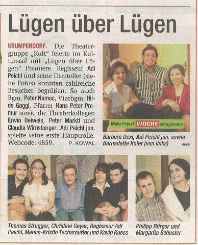Woche-- 2010 Lügen über Lügen Premiere