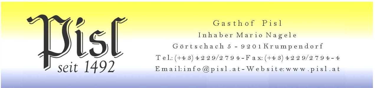 Gasthaus Pisl